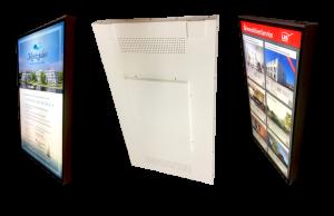 Schaufenster-Bildschirm in 49 Zoll mit 1.600 cd/m²