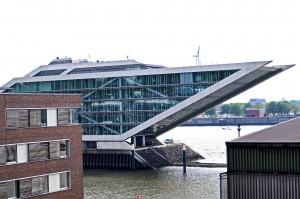 Blick auf Dockland