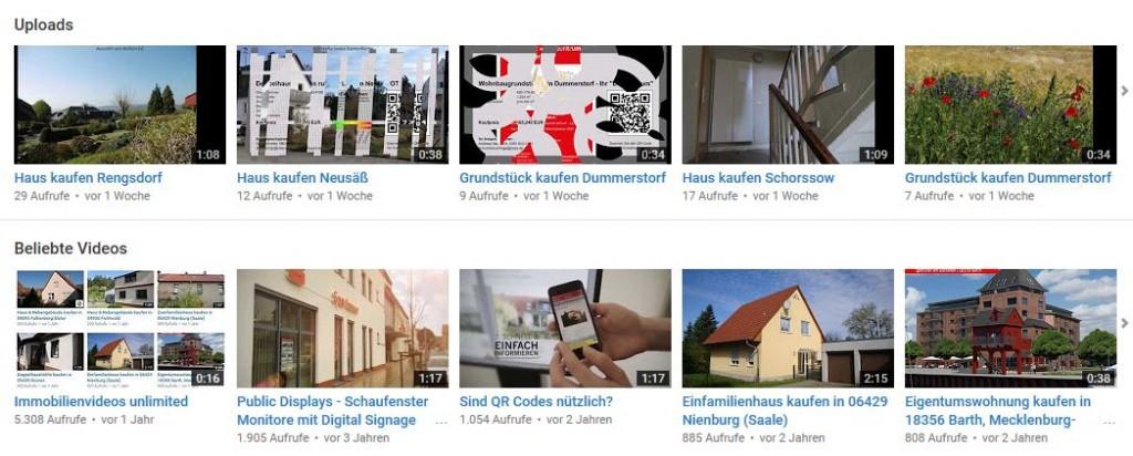 YouTube Zugriffe PRIMO PORTAL Kanal