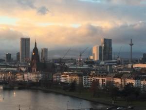 Frankfurt am Main am Nachmittag